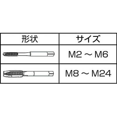 IS ジェットタップ M3X0.5 JET-M3X0.5(ISJ-M3)