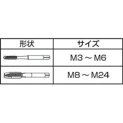IS コバルトジェットタップ M5X0.8 COJET-M5X0.8(ISJ-M5C)(M5X0.8)