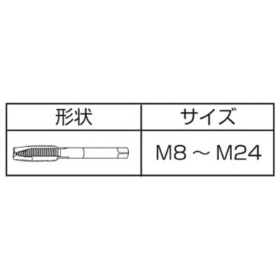 IS ジェットタップ M10X1.5 JET-M10X1.5(ISJ-M10)
