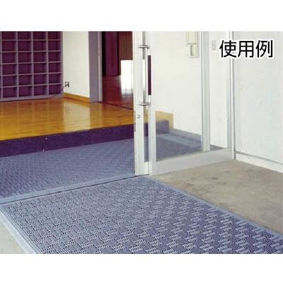 ミヅシマ クロスラインマットエース 中フチ+ グレー 420-0350