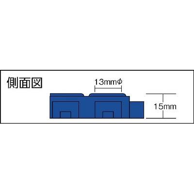 ミヅシマ ソフトチェッカー 本体 250X250 青 422-0010