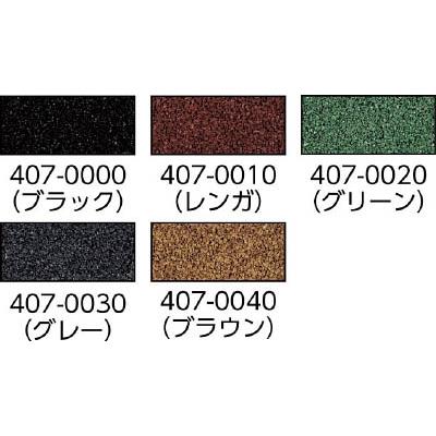 ミヅシマ クッションマット 1MX5MX5mm ブラック 407-0000