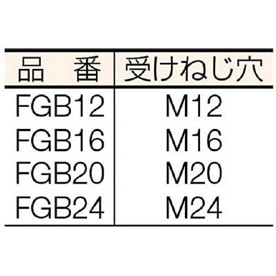 スーパー ユニクランプ本体(アヒル型)M22・24用 FGB24