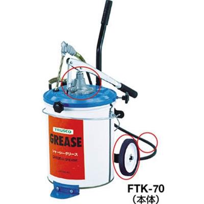 トラスコ中山(TRUSCO) FTK70用グリスシール、ナットセット FTK-6-7