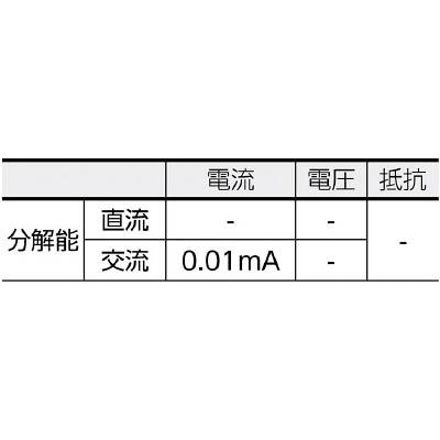 KYORITSU 漏れ電流・負荷電流測定用クランプメータ(RMS) MODEL2433R