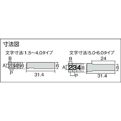浦谷 ハイス組合せ刻印6.0mmバラ 記号 ) ミギカッコ UC60KMIGIKAKKO