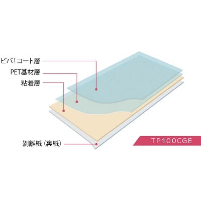 タカハラ ビバフィルム(超耐久保護フィルム) 1000mm×5m 透明 TN100GL5