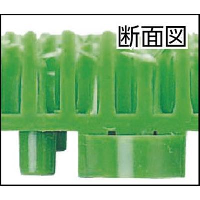 ワタナベ工業(Watanabe Industry)  人工芝 システムターフ 5cm×30cm メス グリーン ST-30-GR-2