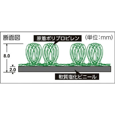 テラモト テラシックマット450×750mm MR-039-020-1