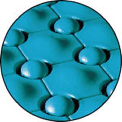 テラモト 抗菌フミンゴ中ふちメスブルー MR-085-294-3