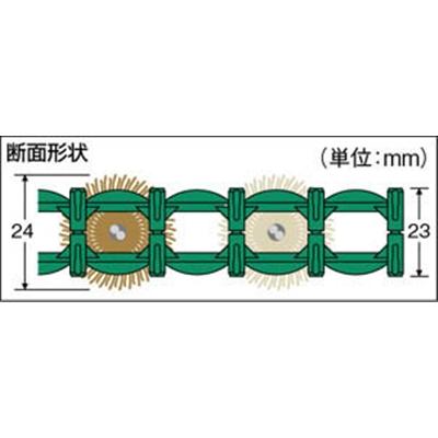 テラモト テラマットダイヤ390×600mmグリーン MR-100-310-1