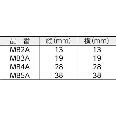 ヘラマンタイトン インシュロック マウントベース MB3A-B