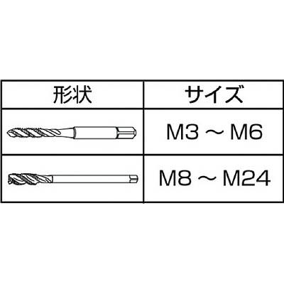 IS スパイラルタップ M8X1.25 SPT-M8X1.25(ISP-M8)(ISP-8)
