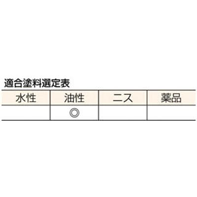 ■トラスコ中山(TRUSCO) 鉄骨橋梁用白平刷毛 35号  TPB-124  (35ゴウ 80MM)