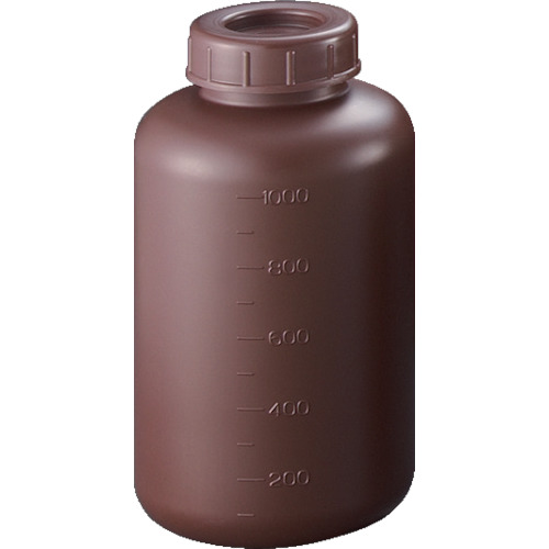 サンプラ PE広口遮光瓶 1L 2913