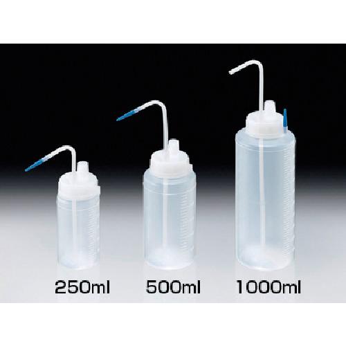 サンプラ ガス抜き洗瓶 500ml 25002