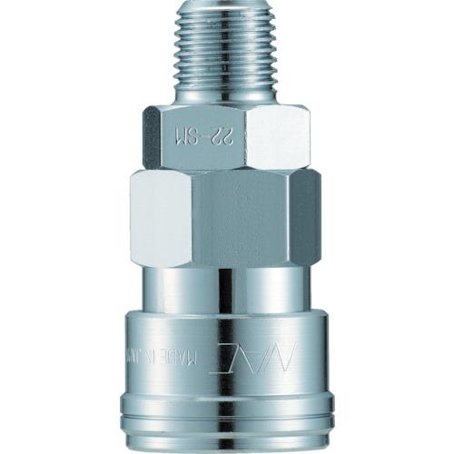ナック クイックカップリング AL20型 鋼鉄製 メネジ取付用 CAL23SM