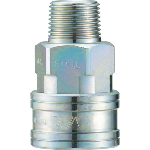 ナック クイックカップリング TL型 鋼鉄製 メネジ取付用 CTL03SM