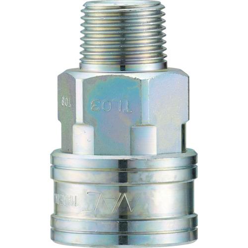 ナック クイックカップリング TL型 鋼鉄製 メネジ取付用 CTL06SM