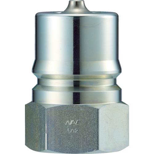 ナック クイックカップリング S・P型 鋼鉄製 オネジ取付用 CSP04P