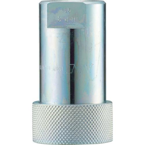 ナック クイックカップリング HP型 特殊鋼製 高圧タイプ オネジ取付用 CHP02S