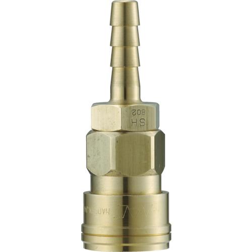 ナック クイックカップリング AL20型 真鍮製 ホース取付用 CAL22SH2