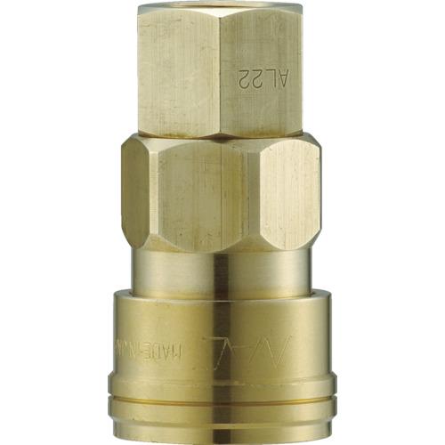 ナック クイックカップリング AL40型 真鍮製 オネジ取付用 CAL44SF2