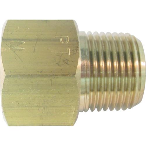 ASOH 黄銅製 変換内外ソケット 外PT3/8×内NPT3/8 NF3033