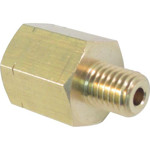 ASOH 黄銅製 変換内外ソケット 外UNF1/4−28×内PT1/8 NF3281