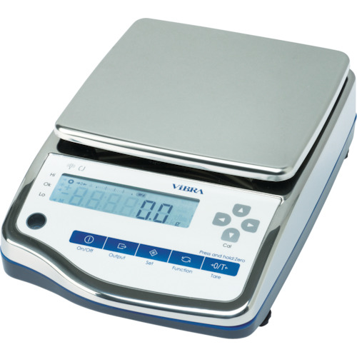 ViBRA 高精度電子天びん(防水・防塵型)6200g CJ6200