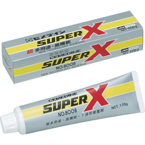 セメダイン(Cemedine)  スーパーX8008 ホワイト 170g AX121