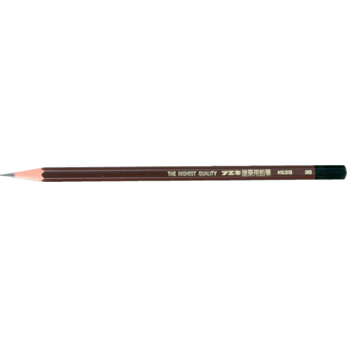 ■フエキ 建築用鉛筆 2B KE2B6