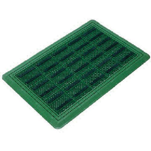 コンドル (屋外用マット)エバックブラシハードマットYL #6 緑 F1176G
