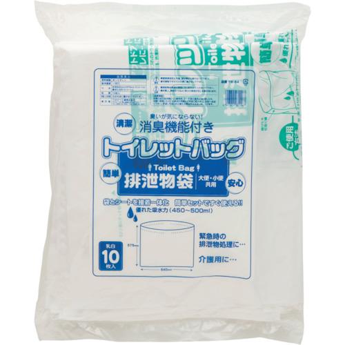 ワタナベ工業(Watanabe Industry)  トイレットパック 排泄物処理袋 乳白 TW64