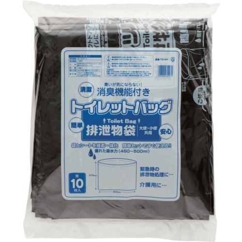 ワタナベ工業(Watanabe Industry)  トイレットバック 排泄物処理袋 黒 TB64