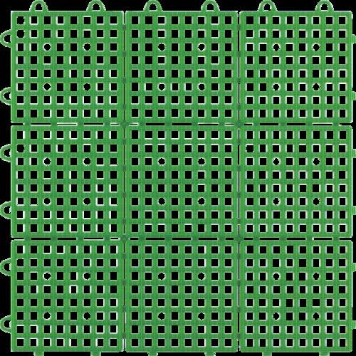 ワタナベ工業(Watanabe Industry)  タイル システムスクエアー 30×30cm グリーン SQ-301