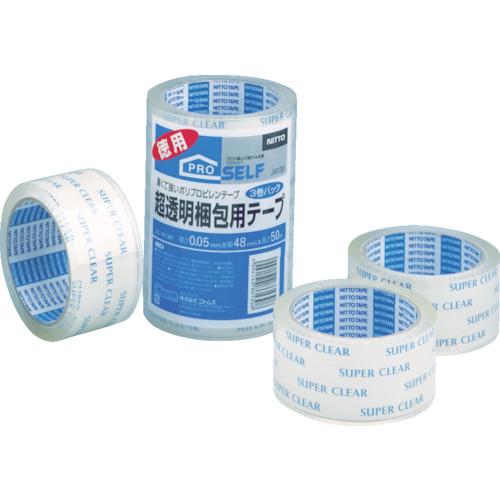 ニトムズ 超透明梱包テープ J6130