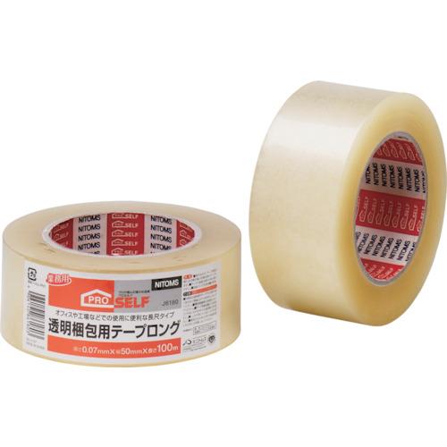 ニトムズ 透明梱包用テープ ロング J6180