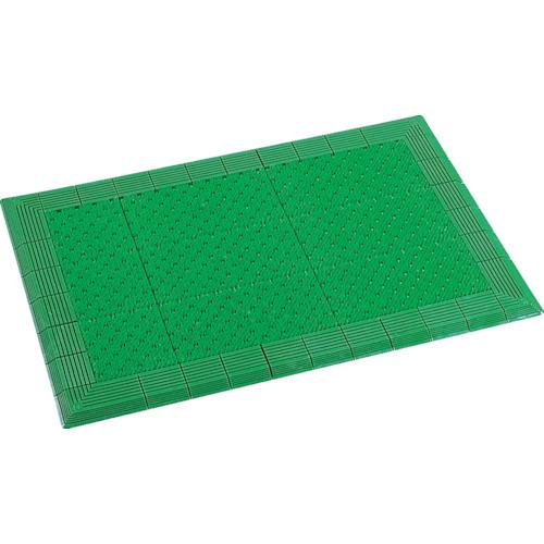 テラモト テラエルボーマット450×750mm緑 MR-052-020-1