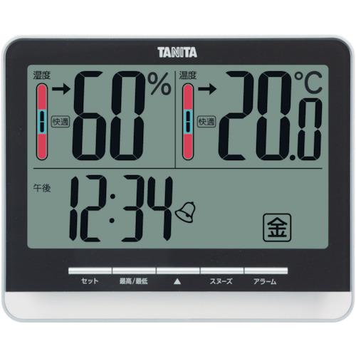 ■TANITA デジタル温湿度計 TT‐538‐BK TT538BK