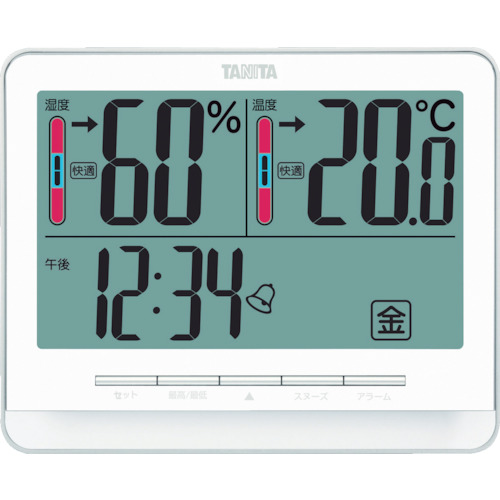 ■TANITA デジタル温湿度計 TT‐538‐WH TT538WH