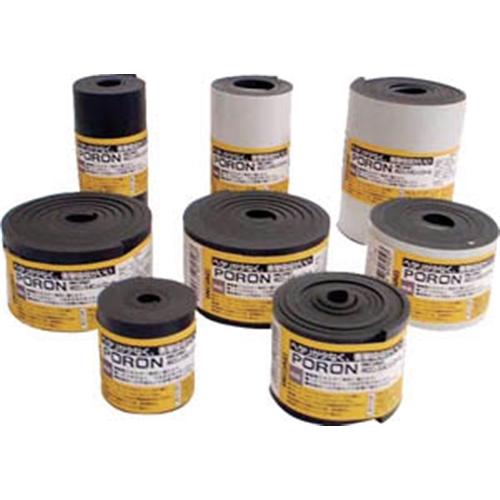 イノアック マイクロセルウレタンロールPORON 黒 1.5×50mm×1M巻( L321.550MT