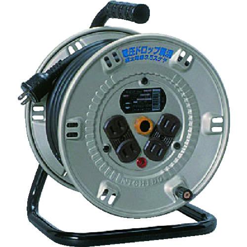 日動 電工ドラム スタミナリール100V 2芯 20m NP-204F