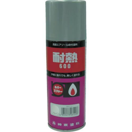 シントー 耐熱用スプレー 黒 300ML 2621-0.3