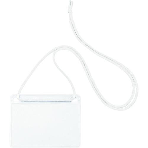 OP 簡易吊り下げ名札 名刺サイズ 10枚 白 NL11WH