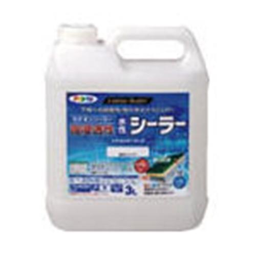 アサヒペン(Asahipen) 強浸透性水性シーラー3Lクリヤ458179