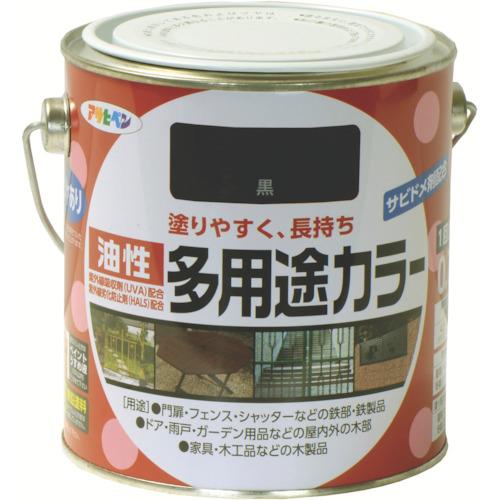 アサヒペン(Asahipen) 油性多用途カラー 0.7L 黒 536785