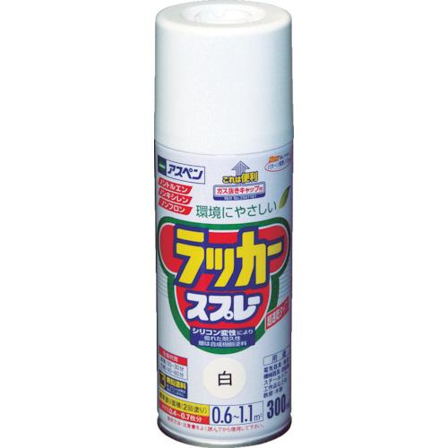 アサヒペン(Asahipen) アスペンラッカースプレー300ml 白 568007
