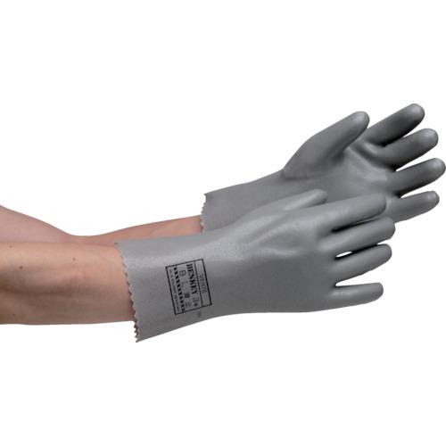 ミドリ安全 耐溶剤性・油脂対応手袋 ベンケイ3号B型 すべり止め付 LLBENKEYNO3BSUBERIDOMELL
