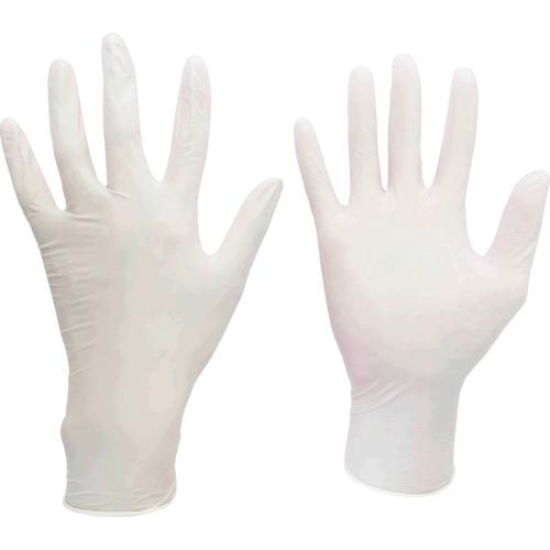 ミドリ安全 ニトリル使い捨て手袋 極薄 粉なし 100枚入 白 L VERTE711L
